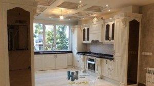 ساخت آشپزخانه کلاسیک