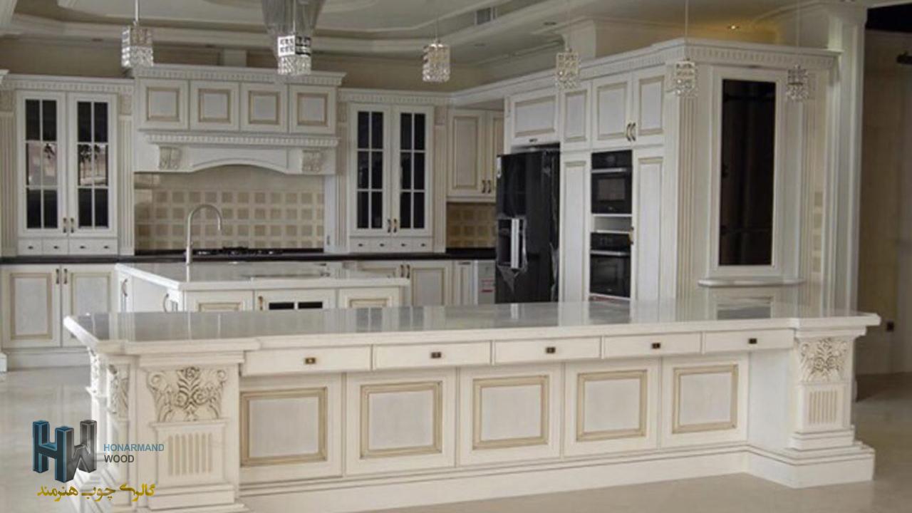 ساخت آشپزخانه مدرن