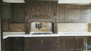 آشپزخانه کلاسیک زیبا
